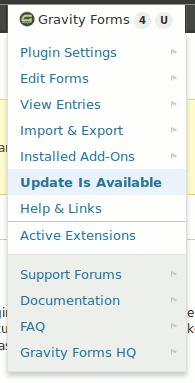 Updated Toolbar Menu