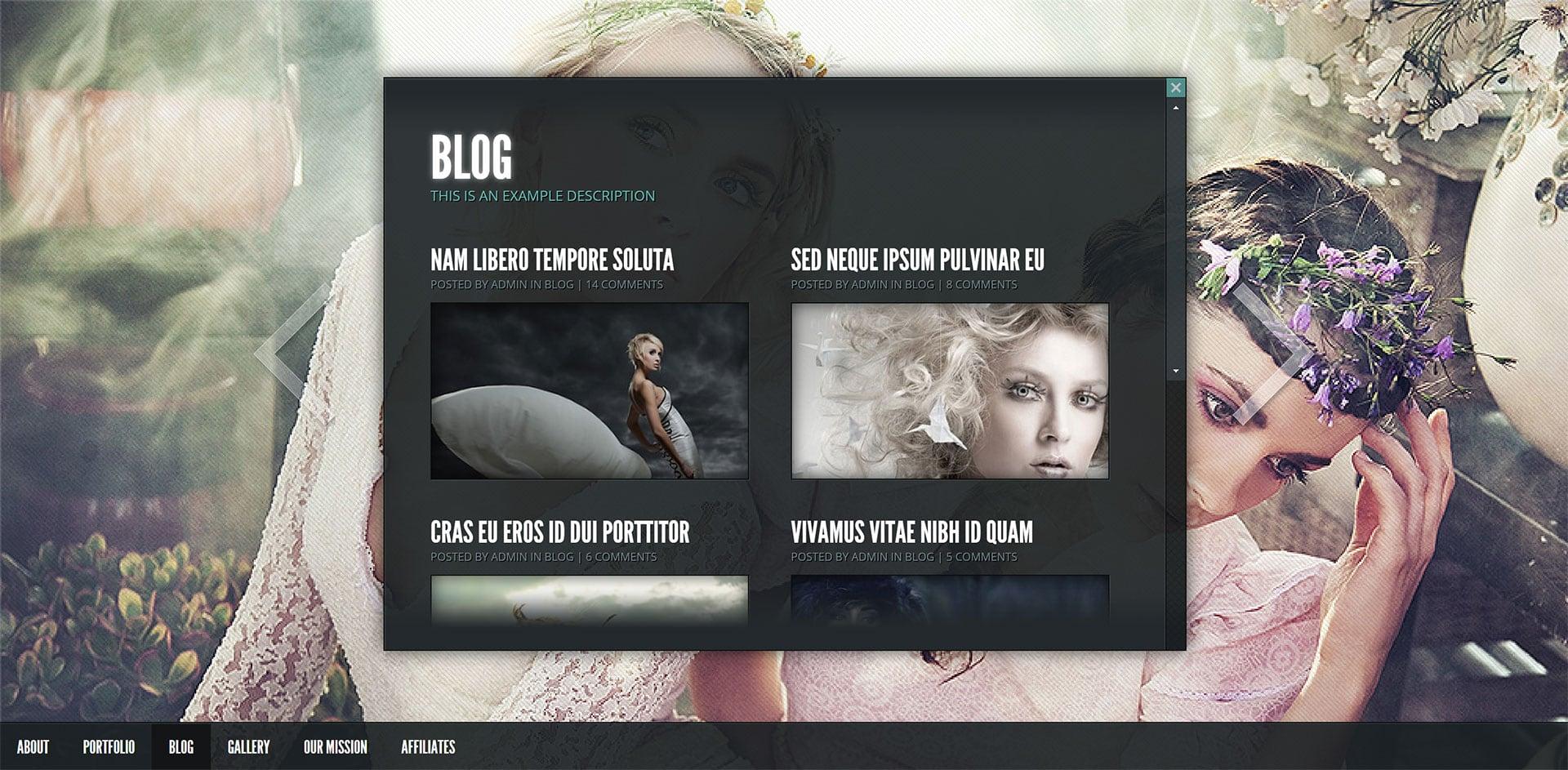 Gleam - Website Screenshot