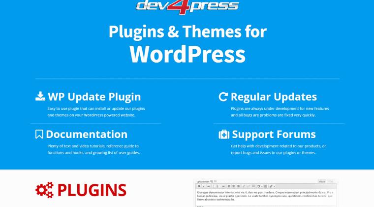 Dev4Press Website, V5