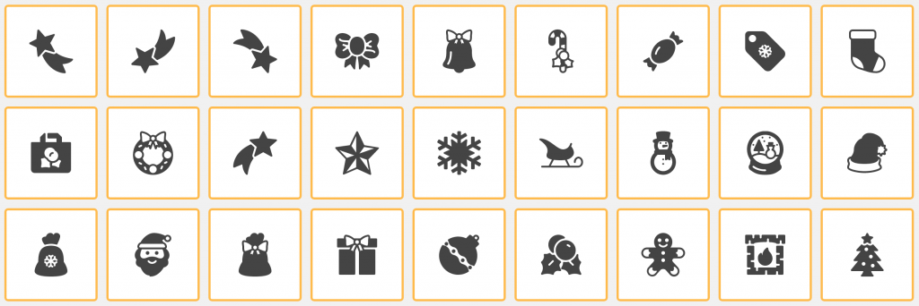 Font Icons Included
